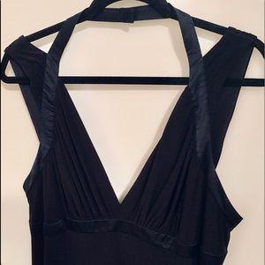 Laundry by Shelli Segal Black Bondage Formal Dress